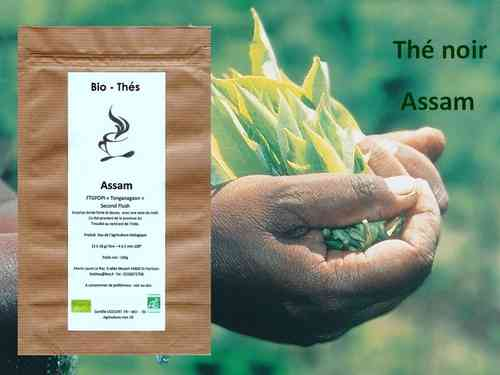 "Assam FTGFOPI "" Tonganagaon"" Second Flush Bio 100g"