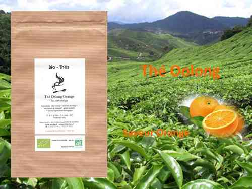 Oolong orange Bio 100g